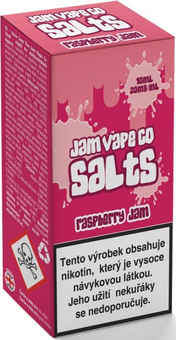 E-liquid Juice Sauz SALT The Jam Vape Co Raspberry Jam 10ml
