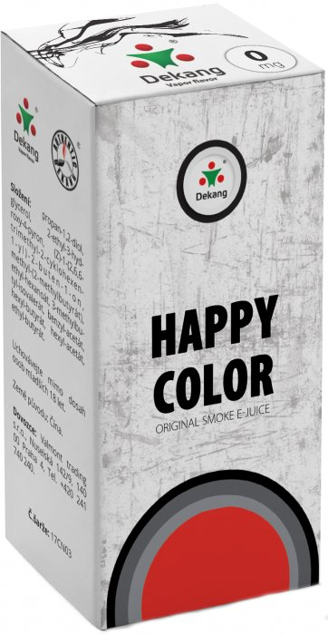 E-liquid Dekang Classic Happy Color - 10ml
