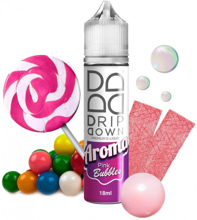 Příchuť Drip Down Shake and Vape Pink Bubbles 18ml