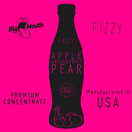 BigMouth Fizzy - Apple DragonFruit Pear - 10ml