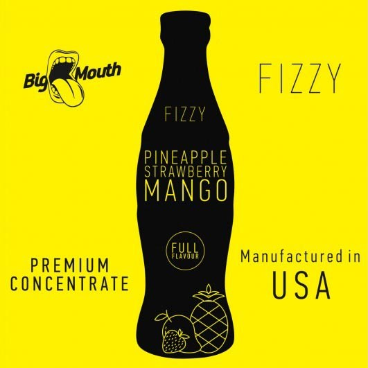 BigMouth Fizzy - Pineapple Strawberry Mango - 10ml