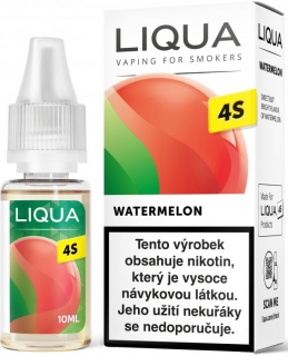 E-liquid LIQUA CZ 4S Watermelon 10ml / 20mg