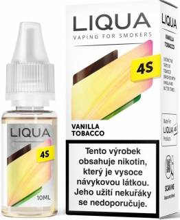 E-liquid LIQUA CZ 4S Vanilla Tobacco 10ml / 20mg