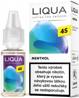 E-liquid LIQUA CZ 4S Menthol 10ml / 20mg