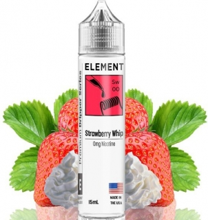 Příchuť Element Shake and Vape 15ml Strawberry Whip