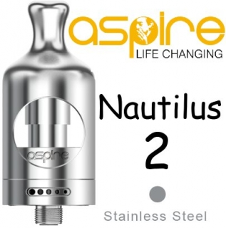 Clearomizér aSpire Nautilus 2 Silver 2ml