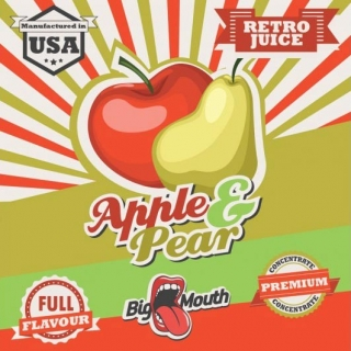 BigMouth Retro Juice - Apple - Pear - 10ml