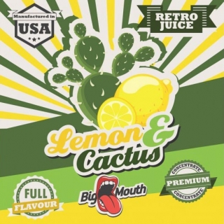 BigMouth Retro Juice - Lemon-Cactus - 10ml