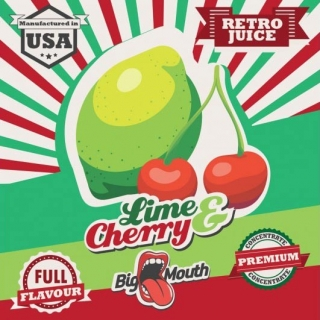 BigMouth Retro Juice - Lime - Cherry - 10ml