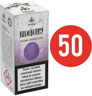 E-liquid Dekang Fifty Blueberry - 10ml