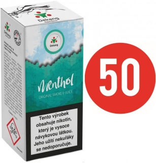 E-liquid Dekang Fifty Menthol - 10ml