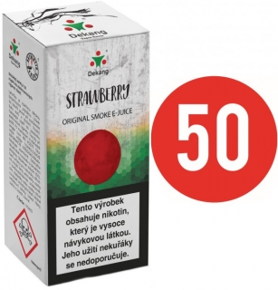 E-liquid Dekang Fifty Strawberry - 10ml