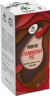 E-liquid Dekang High VG Strawberry Pie (Jahodový koláč) - 10ml