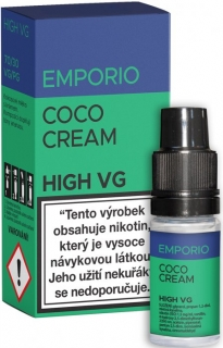 E-liquid EMPORIO High VG Coco Cream 10ml