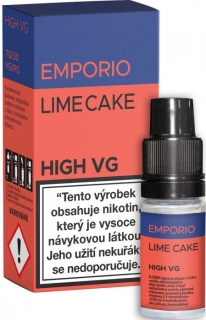 E-liquid EMPORIO High VG Lime Cake 10ml