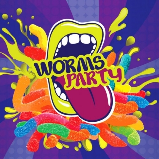 Příchuť Big Mouth Classical Worms Party - 10ml