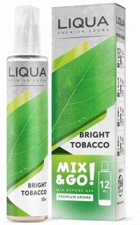 Příchuť Liqua Mix&Go Bright Tobacco 12ml