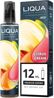Příchuť Liqua Mix&Go Citrus Cream 12ml
