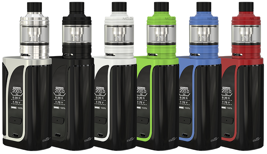 Grip iSmoka-Eleaf iKuun i200 grip Full Kit Black