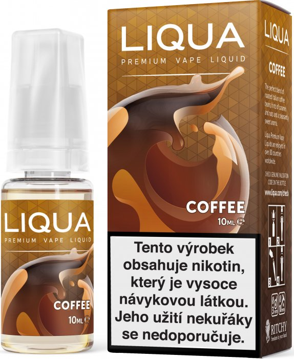 E-liquid LIQUA CZ Elements Coffee (Káva)