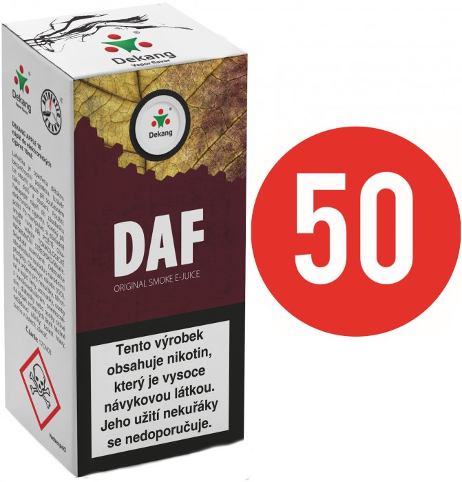 E-liquid Dekang Fifty DAF - 10ml