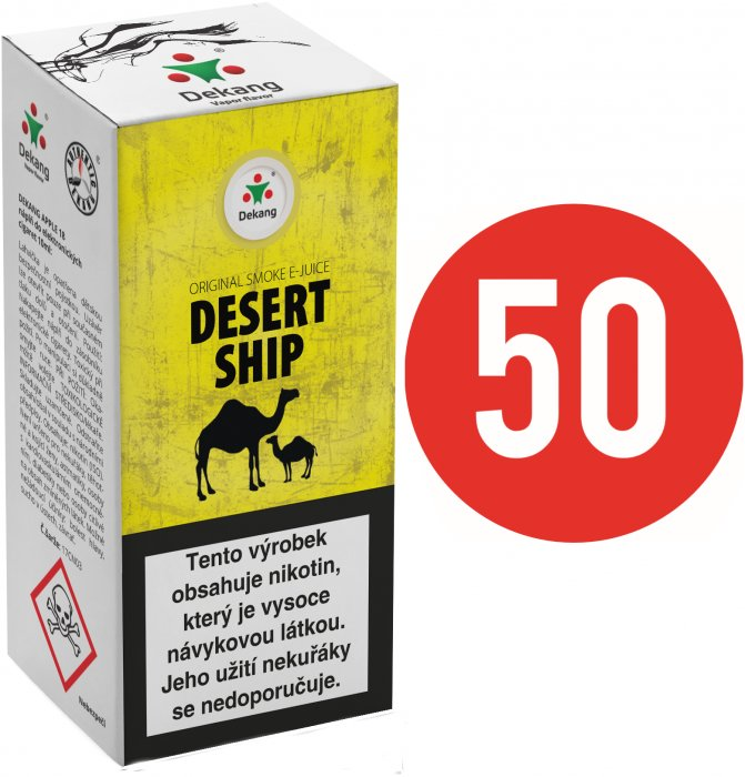 E-liquid Dekang Fifty Desert Ship - 10ml
