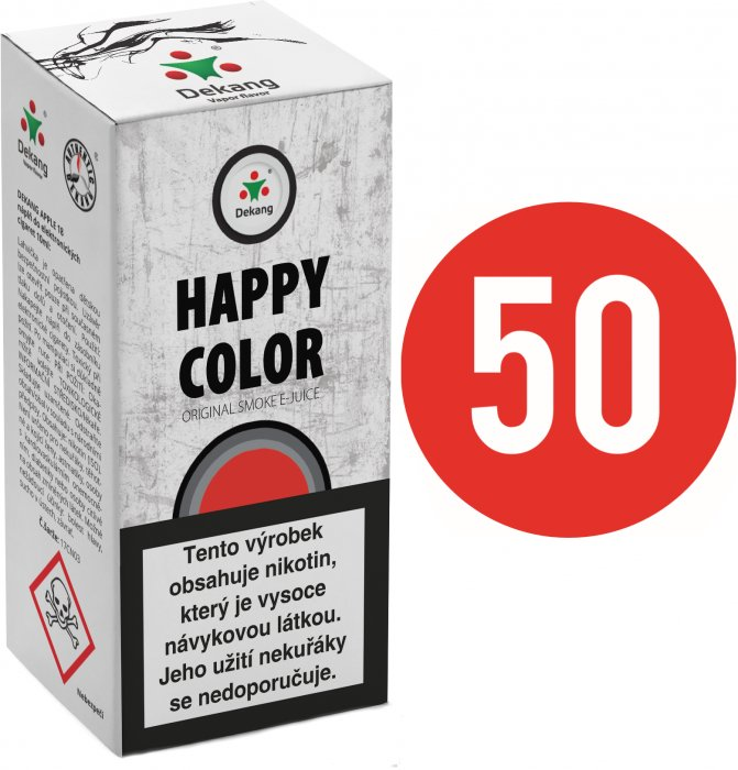 E-liquid Dekang Fifty Happy Color - 10ml