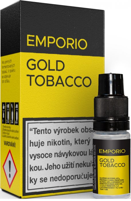 E-liquid EMPORIO Gold Tobacco