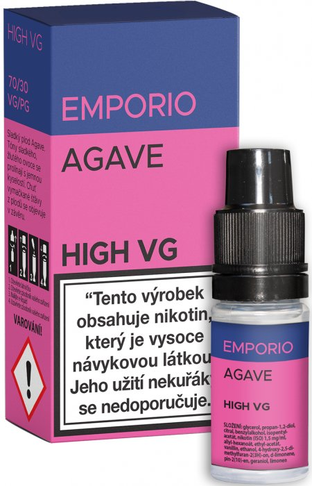 E-liquid EMPORIO High VG Agave 10ml