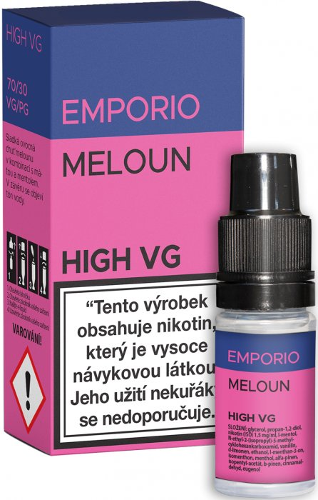 E-liquid EMPORIO High VG Meloun 10ml