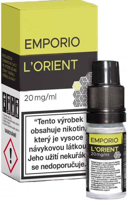 E-liquid Emporio Salt L´Orient 10ml - 20mg