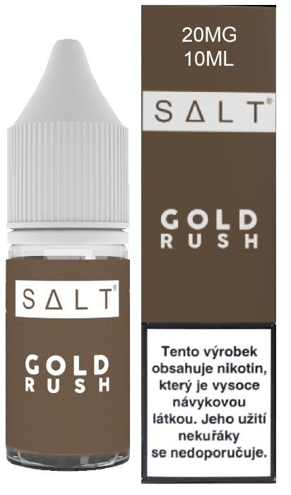 E-liquid Juice Sauz SALT Gold Rush 10ml - 20mg