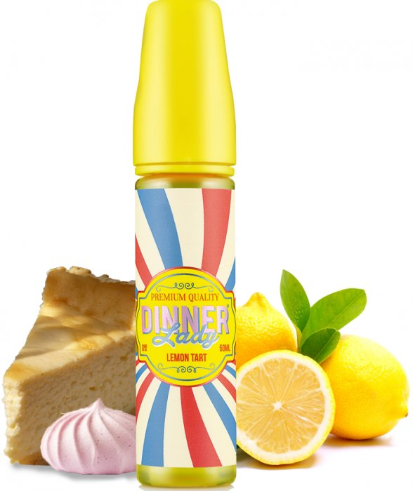 Příchuť Dinner Lady Shake and Vape 20ml Lemon Tart