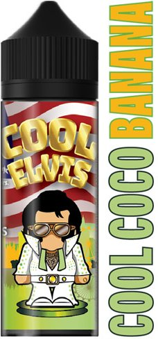 Příchuť Flavormonks Cool Elvis Shake and Vape Cool Coco Banana 12ml