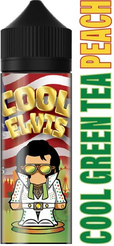 Příchuť Flavormonks Cool Elvis Shake and Vape Cool Green Tea Peach 12ml