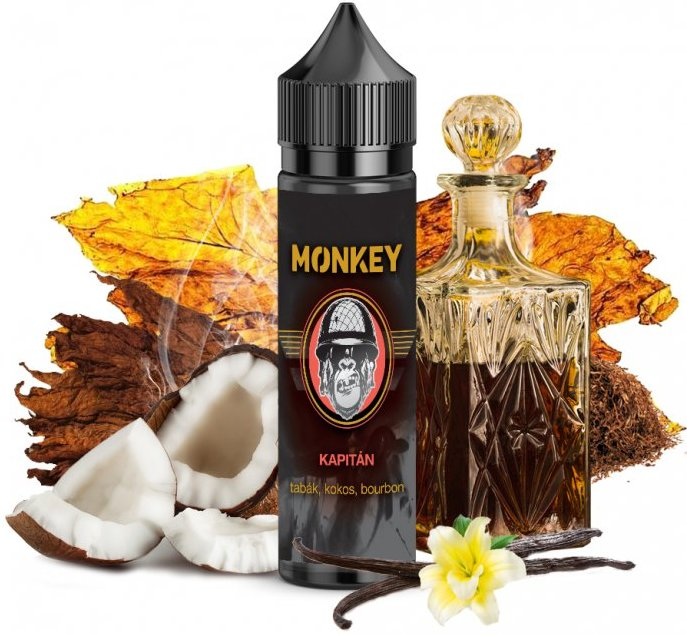Příchuť MONKEY liquid Shake and Vape Kapitán 12ml