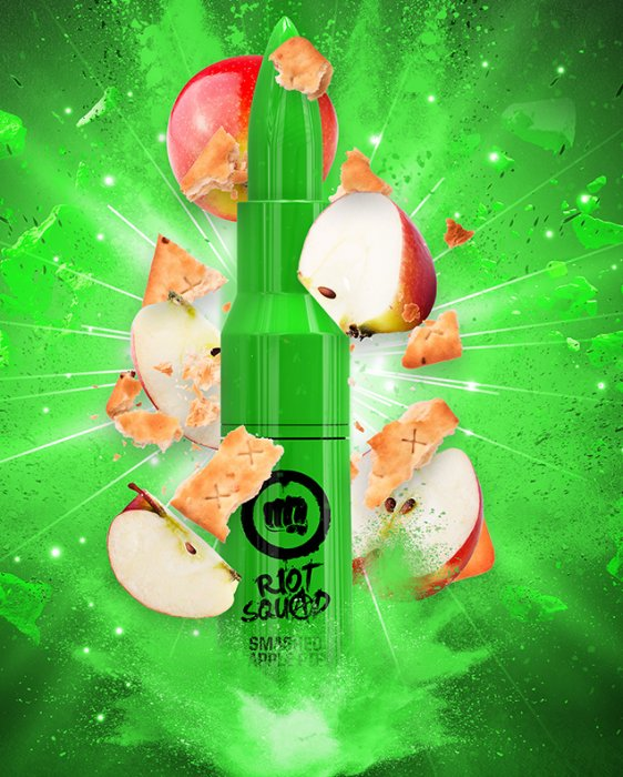 Příchuť Riot Squad Shake and Vape Smashed Apple Pie 20ml